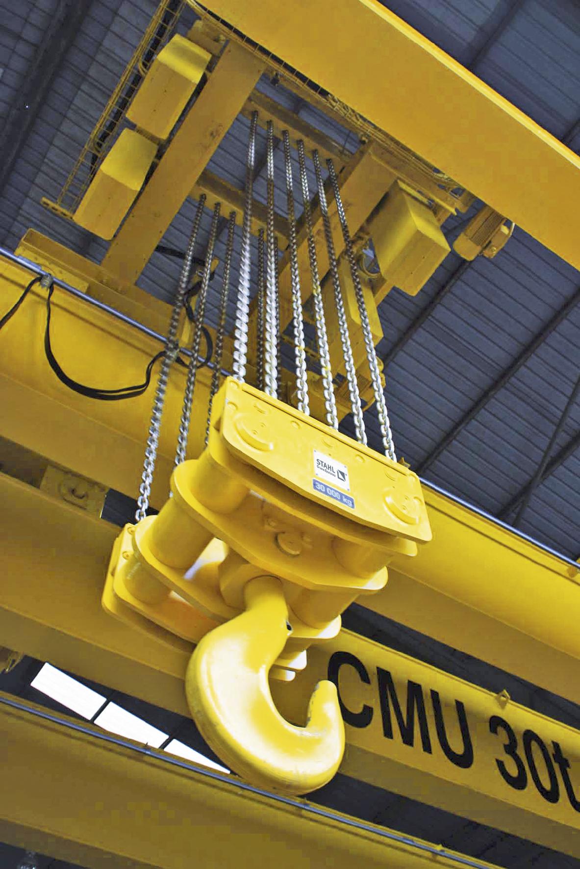 polipasto electrico de cadena zentratec